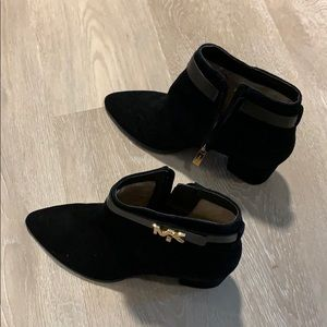 Michael Kors Suede Leather Booties